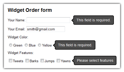 Form Validation