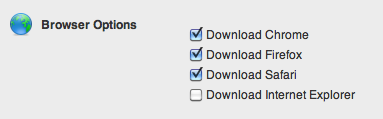 Added Feature to Browser-Blocker, Select available Downloads