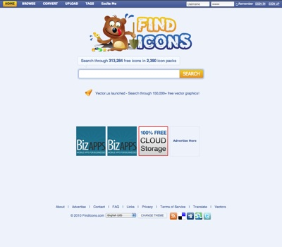 FindIcons.com Free Icon Search Engine