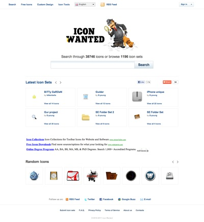 iconwanted Free Search Engine